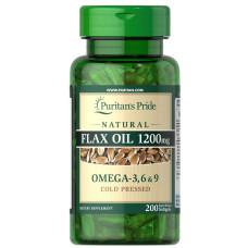 Óleo de Linho Natural 1200 mg