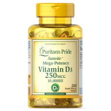 Vitamina D3 250 mcg (10.000 UI)