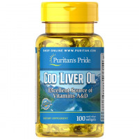 Óleo de Fígado de Bacalhau 415 mg