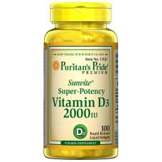 Vitamina D3 2000 IU
