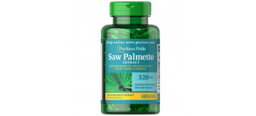 Extrato Padronizado de Saw Palmetto 320 mg