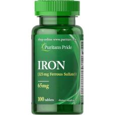 Sulfato Ferroso 65 mg