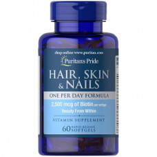 Hair, Skin & Nails One Per Day Formula
